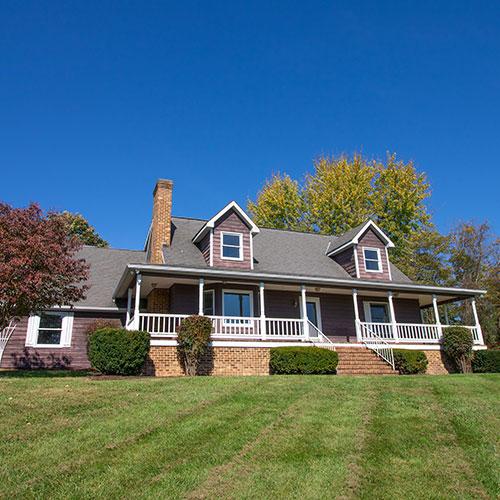 The Blue Ridge vacation rental home at Massanutten Resort.