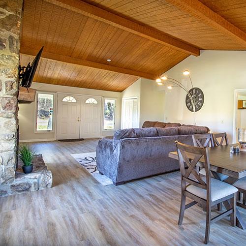Woodside Refuge vacation rental home at Massanutten Resort.