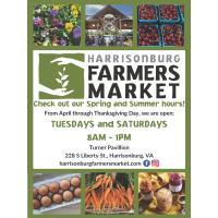 The Harrisonburg Farmers Market Opens for the Season