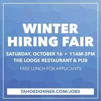 Tahoe Donner Winter Hiring Fair at The Lodge