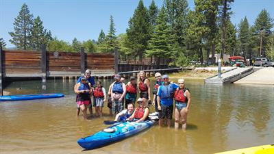 Paddle Sports with Achieve Tahoe