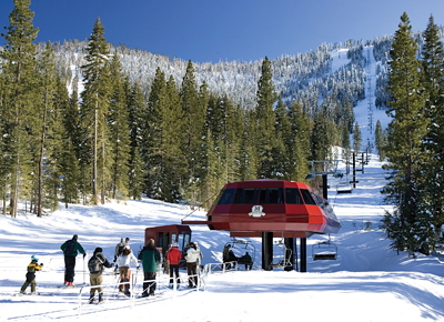 The Martis Camp Express Lift to Northstar California Resort