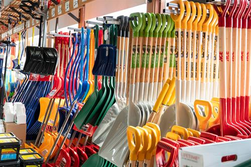 Shovels and Snow Removal Supplies