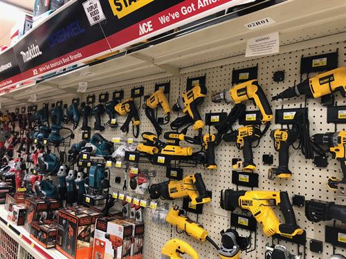 Huge selection of Power Tools