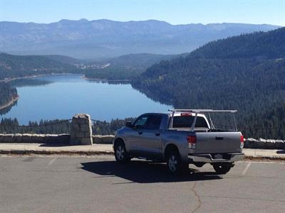 Toyota over Donner Lake