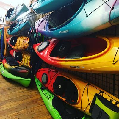 Truckee's largest selection of kayaks