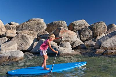 Paddleboard rental for the whole family, including kid's rentals