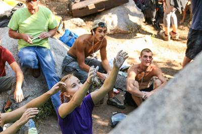 We rent and sell Bouldering gear and put on the Boulder Bash climbing competition each summer