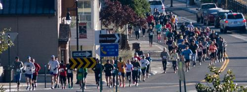 Truckee Half Marathon, start and finish in Historic Downtown Truckee