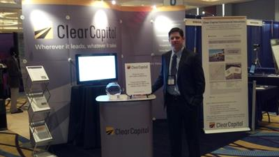Clear Capital representing at an industry conference