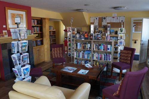 For Goodness Sake Library and Bookstore main room