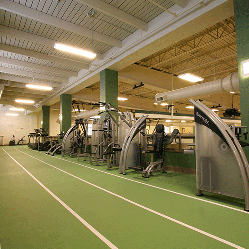 Fitness Center & Indoor Track