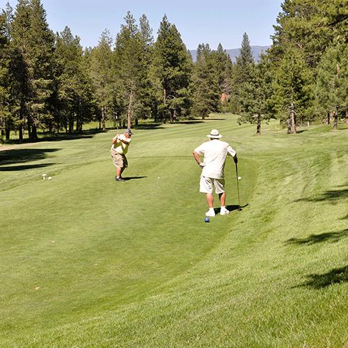 Ponderosa Golfe Course - Hole 1
