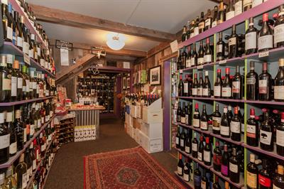 Over 350 selections, wines from around the world, to suit any budget, large or small
