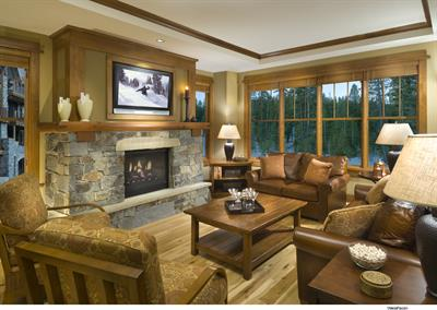 Great room, The Village at Northstar