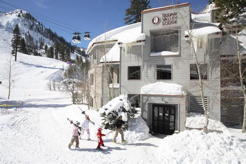 Ski-in/Ski-out Squaw Valley Lodge