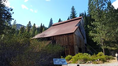 Stamp Mill Building at Plumas Eureka State Park