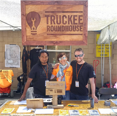 Truckee Roundhouse team