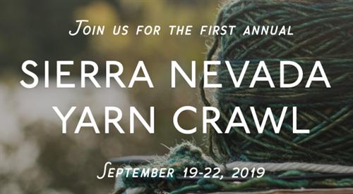 Sierra Nevada Yarn Crawl - Sep 19, 2019 - Events Details