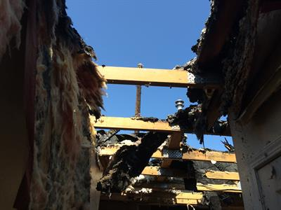 "Fire can be devastating, Servpro can make it ""Like it never even happened."""