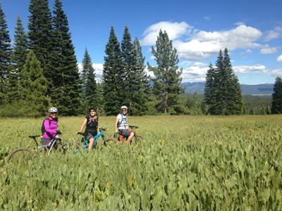 Ladies mountain Bike Clinic Truckee