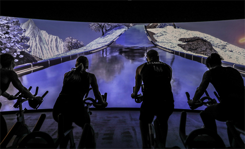 THE TRIP: IMMERSIVE CYCLE EXPERIENCE