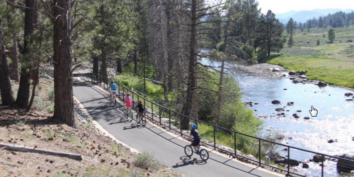 Truckee River Legacy Trail Trails Paved Paths Access