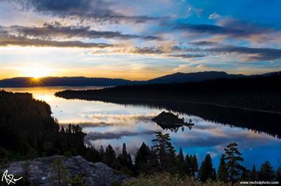 Sunrise Mirror - Emerald Bay