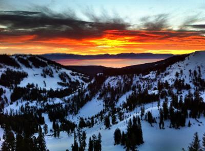 Alpine Meadows Sunrise