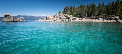 Chimney Beach-Lake Tahoe