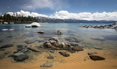 Speedboat Beach-Lake Tahoe  -  The North Shore of Lake Tahoe is 20 minutes from Downtown Truckee
