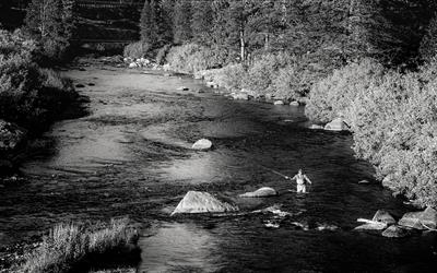 Fly Fishing on the Truckee River - On a summer's evening, just minutes from Downtown Truckee