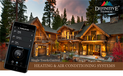 Remote Heating and Air Conditioning Management