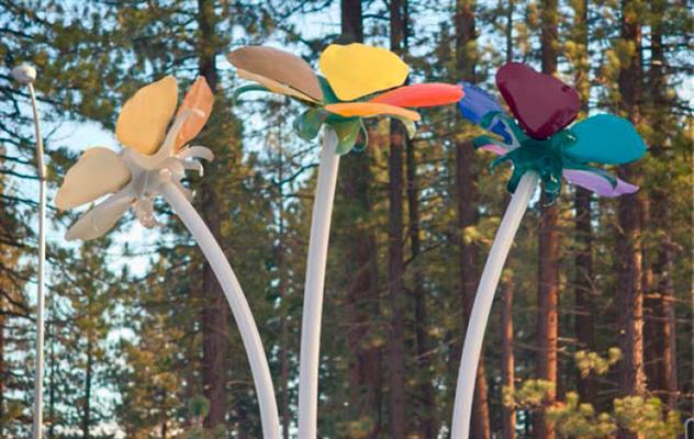 Public Art - Mountain Flowers