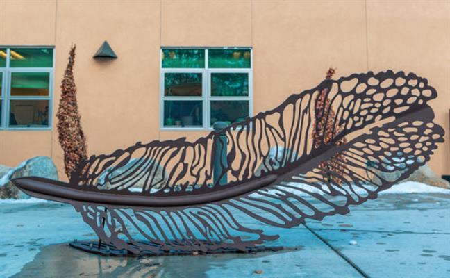 Public Art - The Feather