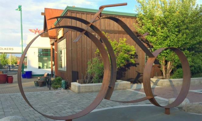 Public Art - Locomotion
