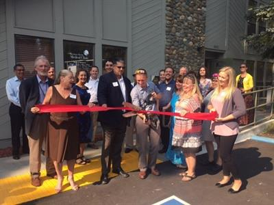 Western Sierra Medical Clinic ribbon cutting