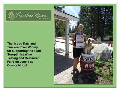 Soroptimist International of Truckee Donner Event Sponsor, social media content