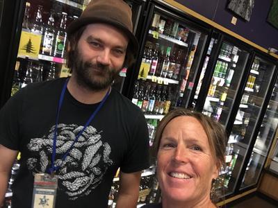 New Moon Market Truckee -  shop & drop-off your beer bottles for reuse