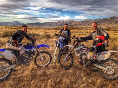 Dirt Bikes.  Guided or unguided