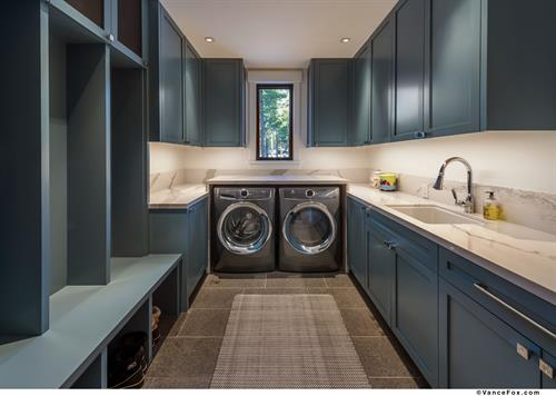 Blue Mountain Transitional Mud/Laundry Room