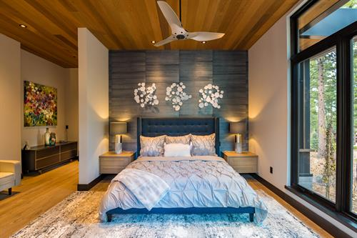 Mountain Modern Master Bedroom