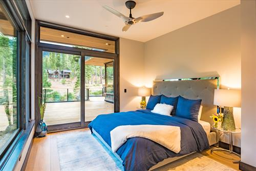 Mountain Modern Jr. Master Bedroom