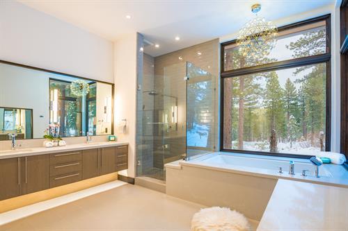 Mountain Modern Master Bathroom