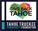 Give Back Tahoe Giving Season - Tahoe Truckee Community Foundation