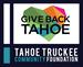 Give Back Tahoe Giving Season - Tahoe Truckee Community Foundation