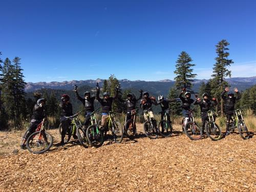 ARC youth are introduced to mountain biking at Northstar
