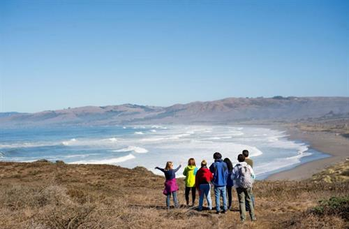Many ARC youth have never seen the Pacific Ocean before their participation in a weekend retreat