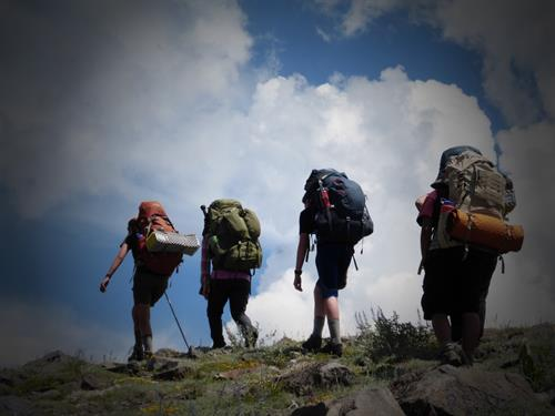 Backpacking is a core activity in fulfilling ARC's mission