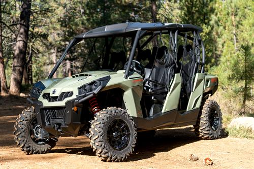 Two and four-seat Can-Am Commanders are the ultimate fun machines featuring top-of-the-line off road technology to bring guests the safest, most fun experience,